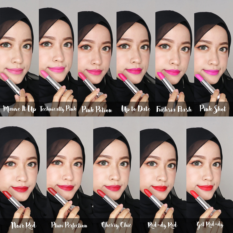 Lipstick Matte Terbaru dengan Formula Ringan dari Maybelline